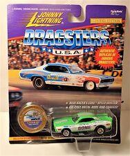 Johnny Lightning Dragsters USA Color Me Gone 1972 Dodge Challenger series 6