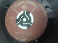 """Ronny Oh My Darling Caroline 7"""" Vinyl German Import Telefunken - Lu La Lu"""
