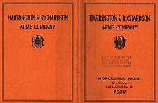 Harrington & Richardson Arms 1930 Gun Catalog