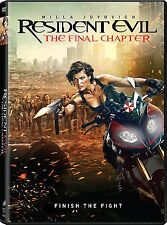 Resident Evil: The Final Chapter (DVD, 2017) Milla Jovovich