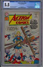 ACTION COMICS 276 (1961)-CGC 5.5 1ST BRAINIAC 5, SUN BOY, PHANTOM GIRL, OTHERS