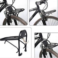Aluminum Alloy Bicycle Front Rack Shelf Panniers Bracket for 24'' to 28'' Wheels
