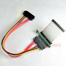 "2.5"" SATA to 44pin mini IDE adapter Card 5CM 44p IDE cable SATA 22pin cable 206"