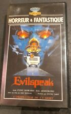Cassette Video Vhs Horreur Evilspeak Video 1991 MPM Rare
