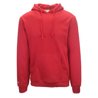 Mitchell & Ness Men's Red Pull Over Hoodie (S02)