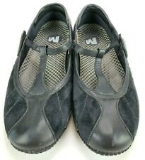 Merrell Relay Wire Midnight Black Flats Shoes Women's Size 8 Great Condition