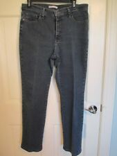Lee At The Waist Stretch Denim Jeans Classic Fit Straight Leg Sz 12 S Womens