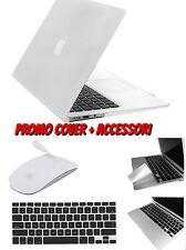 COVER CUSTODIA PER MACBOOK AIR 13 PLASTICA RIGIDA GOMMATA  ACCESSORI A SCELTA