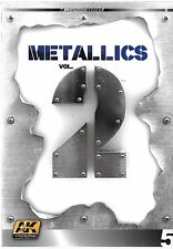 Ak Interactive Learning Series 5, Metallics Vol. 2 Softcover Reference St