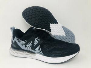 New Balance Men's Tempo V1 Running Shoes, Black/Lead, 11 D(M) US