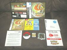 Nintendo DS Pokemon Heart Gold (Not For Resale Version) + Working Poke Walker