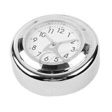 Chrome Windshield Windscreen Black Dial Clock For Honda ACE 1100 VT750 VLX600