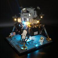 Led Light Up Kit For Lego 10266 Apollo 11 Moon Landing Bin lighting brick 10266