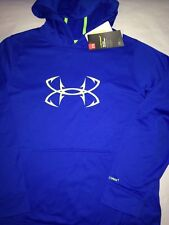 New With Tags Blue Under Armour Sweat Shirt Hoodie Size YXL