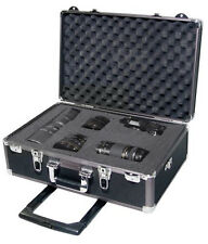 Zeikos Ze-hc52 Large Rolling Hard Case With Extra Padding Foam for Cameras - and