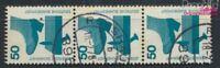 BRD 700A Re mit blaugrüner Zählnummer gestempelt 1971 Unfallverhütu (9233498