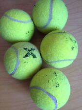 70 Used Tennis Balls, Ideal For Dogs Or Garden Games