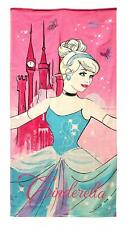 Disney Princess Cinderella Beach Towel  Cotton Large