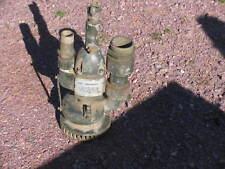 US Army Tacom Centrifugal Pump Sump Pneumatic  Air Powered