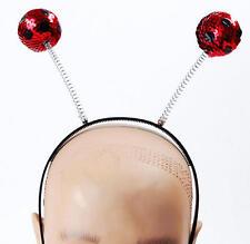 Ladybug Ladybird Bug Headband Sequin Headpiece Fancy Dress Set