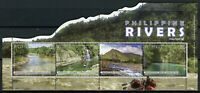 Philippines Landscapes Stamps 2019 MNH Philippine Rivers Nature Mountains 4v M/S