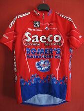 Maillot Cycliste Saeco Romer's Wetzikon Santini Tour de France 2005 - L