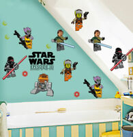 Star Wars III Wall Sticker Removable Vinyl Cartoon Decal Kids Nursery Boys Decor