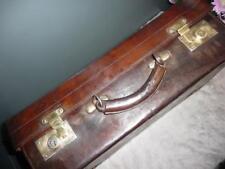 Qualità Vintage in pelle Valigia Bagagliaio Bagagliaio Prop Birmingham Maker