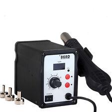 New ATTEN AT 858D 858D+ SMD Hot Air Gun Rework Station Solder Voltage 220V