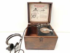VINTAGE 1920s OLD RCA WESTINGHOUSE AERIOLA JR ANTIQUE CRYSTAL RADIO RECEIVER