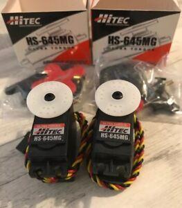 Hitec hs645MG  servos ( 2 )