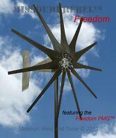 Missouri Raider Freedom 11 Blade 12 volt 1700 Watts Max Wind Turbine Generator