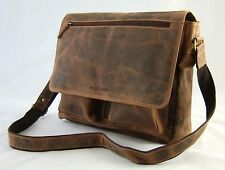 GREENBURRY Messenger Bag 35*32*14 cm Tablet-SCOMPARTO IN PELLE A TRACOLLA IPAD 1781