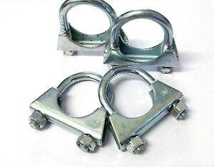Exhaust Clamp. U Bolt. 35mm. Universal. TV Aerial. Pack of 4. *Top Quality!