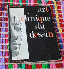 1966 Art et technique du dessin Girard