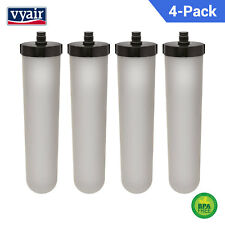 Compatible Ceramic Carbon Water Filter Candle for Franke 02 Triflow /Uniflow x 4