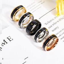 Temperature Ring Titanium Steel Mood Emotion Feeling Intelligent Sensitive Rings