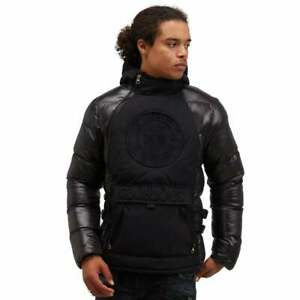 Glorious Gangsta Mens Abrez Puffer Jacket-Black