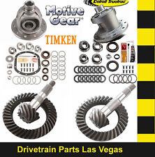 Motive Dana 35 + 30 Gear Set Pkg w Master Kit 4.56 Ratio + Detroit Truetrac Posi