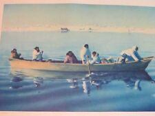 "Fred Machetanz ""Reaching the Campsite"" Limited Edition Alaskan Artist Lithograph"