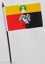 Buckinghamshire Bürger Grafschaft Klein Hand Wehende Flagge