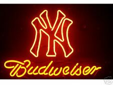 Budweiser New York Yankees Neon Sign