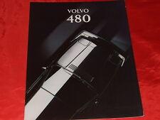 VOLVO 480 S + Turbo Prospekt von 1994