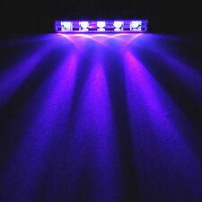 4x UV ULTRA VIOLET LED Pod Neon Under Glow Accent Black Light Kit Car Motorcycle