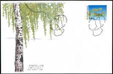 Finland FDC 2002, Tree, European Birch (Betula Pendula)