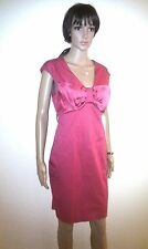 TED BAKER Evening Dress.  Designer Red Cocktail Party, Prom, Wedding.  SIZE 12