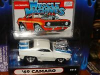 Muscle Machines '69 Chevy Camaro Z/28 1:64 Scale 2000 Diecast 1969 Car 00-2