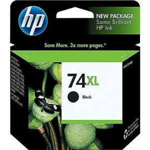 HP 74XL Black High Yield Ink Cartridge (CB336WN140)