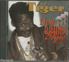 TIGER - New brand style - CD 1995 USED LIKE NEW