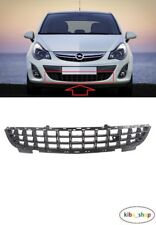 VAUXHALL OPEL CORSA D 2011 - 2014 NEW FRONT BUMPER LOWER GRILLE GRILL BLACK